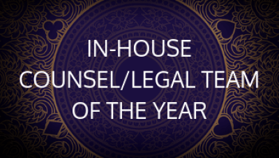 In-House Counsel/Legal Team of the Year