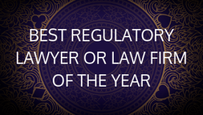 Best Reg Lawyer or Law Firm of the Year