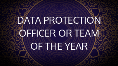Data Protection Officer of the Year or Team of the Year