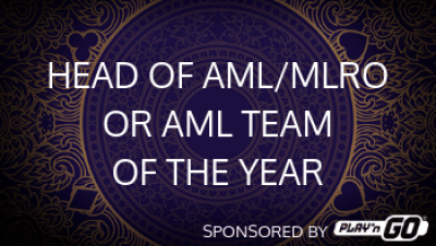 Head of AML/MLRO or AML Team of the year