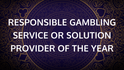 Responsible Gambling Service or Solution Provider of the Year
