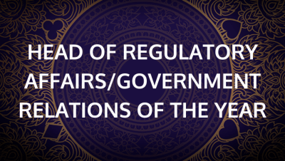 Head of Regulatory Affairs / Government Relations of the Year