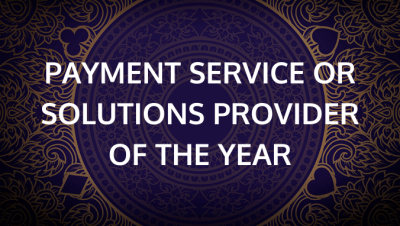 Payment Service or Solution Provider of the Year
